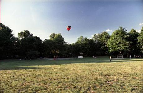 Bilder einer Ballonfahrt